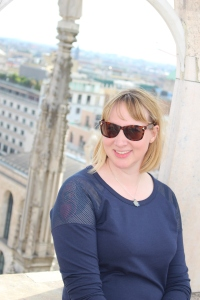 On top of the Duomo in Milano